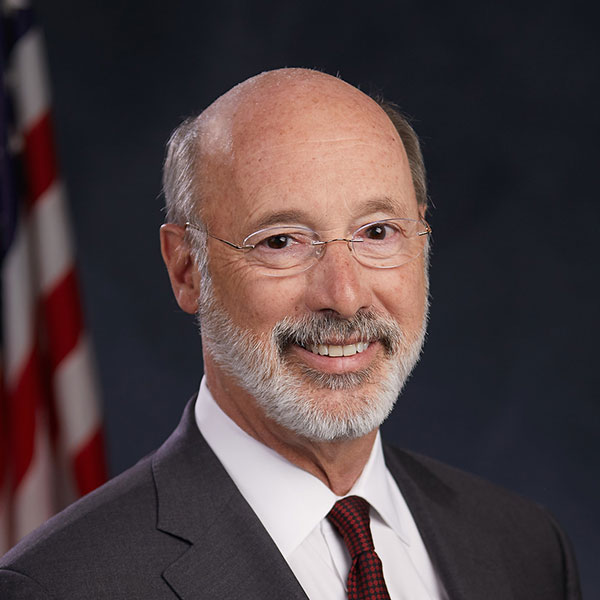 Headshot of Pennsylvania Governor, Tom Wolf